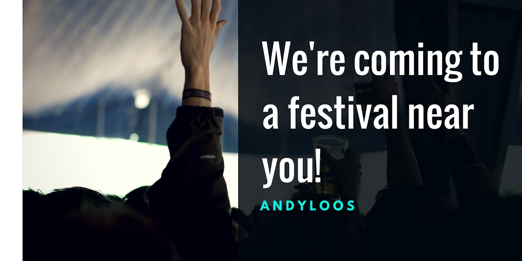 Find our portable toilets this festival season.