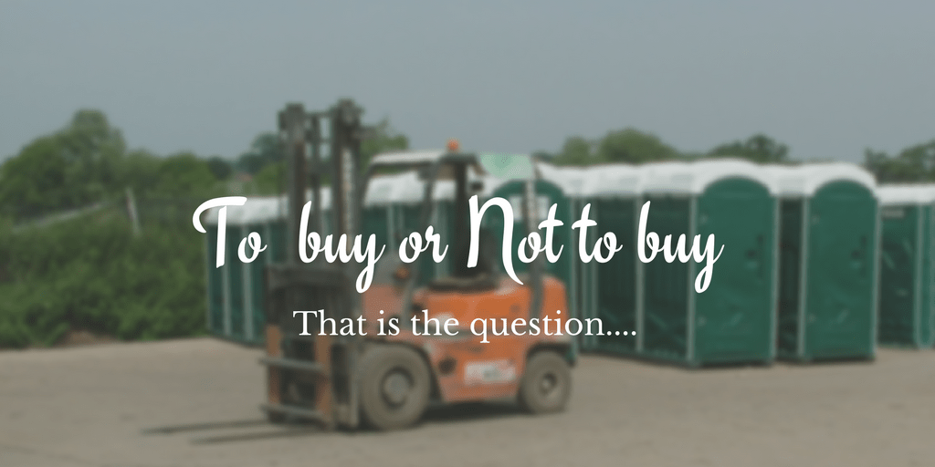 Should I Buy A Portable Toilet Or Hire A Portable Toilet?