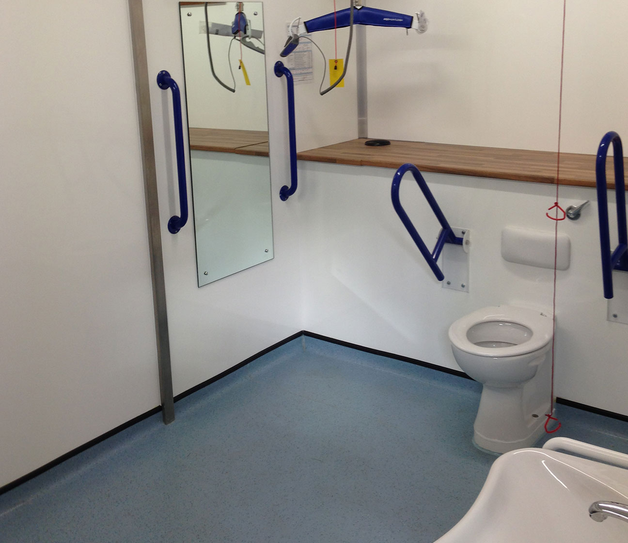 disabled toilet changing places