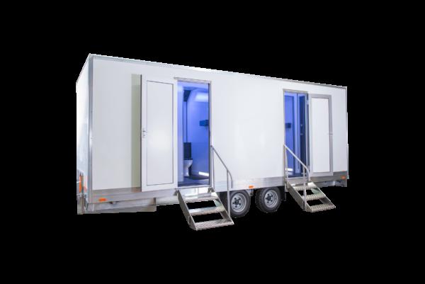 Toilet trailer 3+3